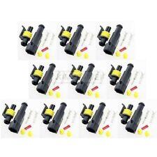 10x Superseal 1-polig Stecker Steckverbinder Wasserdicht für Auto KFZ Boot