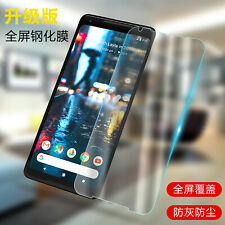 1x/2x 9H Premium Tempered Glass Screen Protector Film For Google Pixel 2 / 2 XL
