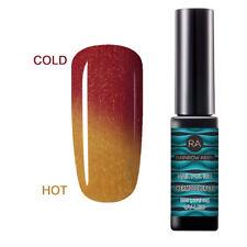 RAINBOW ABBY 8ml Nagel Farbwechselnd UV Gel Lack Nagellack Thermo Soak Off Nail