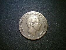 Espagne 1879 10 centimes pièce. Nice Tone
