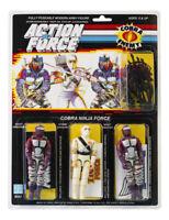 Action Force / GI Joe Cobra Ninja Force MOC Carded Custom