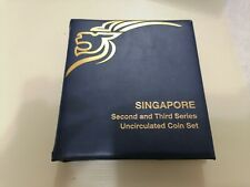 Willie: Singapore Second & 3rd Series Uncirculated Coin set
