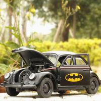 Batman Beetle 1:32 Die Cast Modellauto Spielzeug Model Pull Back Kinder Schwarz