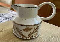 Vintage Midwinter Stonehenge Wild Oats Creamer Vintage England Small Pitcher