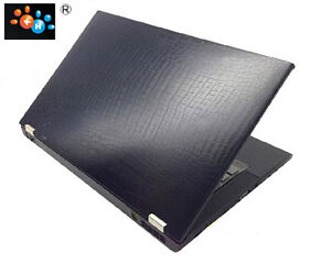 Laptop carbon crocodile leather stiker skin cover for Lenovo ThinkPad T440 T440S