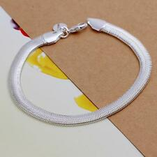 beautiful Fashion silver for women lady Cute 6MM snake pretty bracelet H164