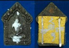 Antique Khunpaen 2 Silver Takrut Ajarn NENAIR Thai Amulet Attraction Love Charm