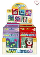 Cross Stitch Embroidery Sewing Art Stocking Filler Childrens Set Craft Kit