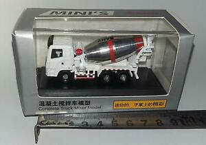 SANY 15 ton cement mixer truck model 7cm long metal diecast 1/125 1/120?