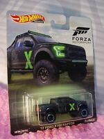 Forza '17 FORD F-150 RAPTOR ☆Black truck;X;Real Riders☆2019 Hot Wheels Premium P