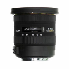 Sigma Auto & Manual Zoom Wide Angle Camera Lenses