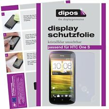 2x Dipos Crystalclear Displayschutzfolie für HTC One S Displayfolie Displayfolie