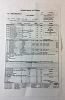 ONE TREE HILL set used CALL SHEET ~ Season 3, Episode 9