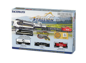 Bachmann 24025   The Stallion Train Set   N Scale   Brand New   Squeaky's Trains