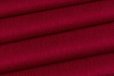 2.0m Laura Ashley 'Edwin' in Cranberry FR Upholstery Fabric