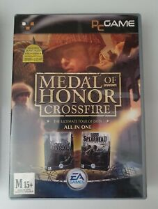 Medal Of Honor: Allied Assault & Spearhead DLC - PC - EA - Crossfire edition