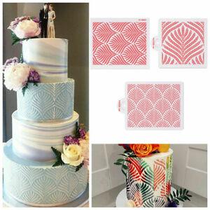 DIY Kuchen Schablonen Blume Blatt Weizen Spike Kuchen Hochzeitstorte Dekorieren