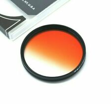 58mm Graduated Orange Filter For Canon Tokina Sigma Tamron DSLR Lens