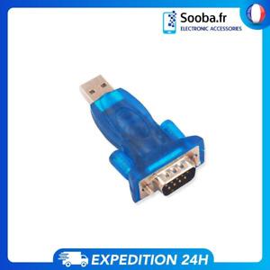 Conversor Adaptador USB a RS232 Puerto Serie COM Serial DB9 Adapter