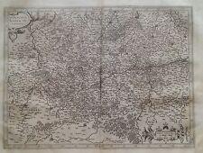 Hainaut Namur 1633 Mercator Hondius