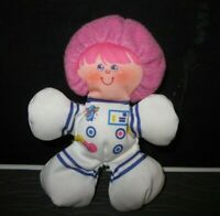 "Fisher Price Smooshees Cuddlers Companions ""Judy Jupiter"" Girl Astronaut 1987"