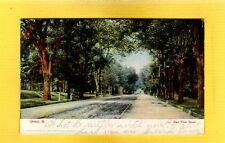 Quincy,IL Illinois, East Main Street with trolley tracks, used 1907,