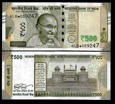 """Rs.500/- Urjit Patel  Star Note """"F"""" Inset  Prefix 6LB  2017 - UNC  LATEST"""