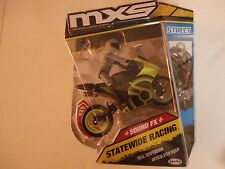 MXS Motocross STATEWIDE RACING SOUND FX GREEN Bike& Rider SERIES 2 FREE SHIPPING