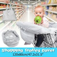 Kids Baby Toddler Cover Seat Infant Supermarket Shopping Chair Cart Safety