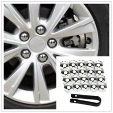 Universal 20×17mm Chrome Car Wheel Nut Caps Auto Hub Screw Cover Lug Nur Cover