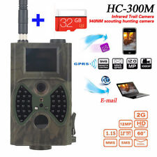 HC300M Infrared Trail Digital Animal Hunting Camera 940NM MMS GPRS GSM + U3 32GB