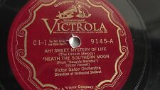 Victor Light Opera Company - 78rpm single 12-inch – Victrola V.E. #9145 Ah Sweet