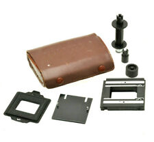 Yashica 635 TLR 35mm conversion kit in Leather case