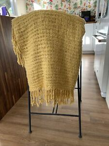 Pottery Barn Knitted Throw 4x6 Ft Classic Style And Super Soft
