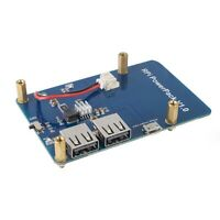 Lithium Battery Pack Expansion Board Power Supply with Switch for Raspberry P5W4