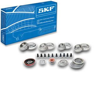 SKF Rear Axle Differential Bearing and Seal Kit for 1992-2011 Ford Crown xq
