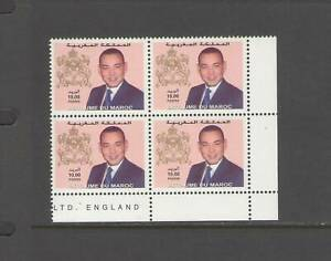 MOROCCO:  Sc. 903 /**KING MUHAMMAD-DEFINITIVE** / Block of 4 / MNH.
