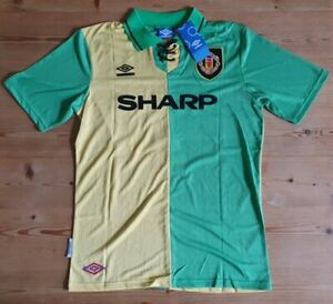 Manchester United Cantona No.7 Umbro Repro 1992/93 3rd Shirt Size Large