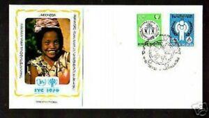 F.D.C.-408- ANNEE DE L'ENFANCE 1979  INDONESIE