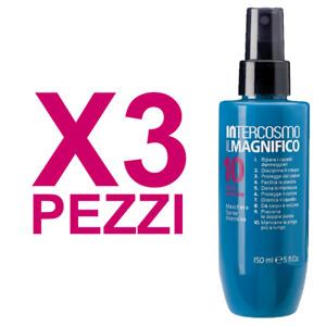 INTERCOSMO Il Magnifico 10 Maschera Spray Intensiva 150ml (Kit 3 PEZZI)