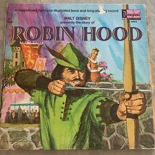 DISNEYLAND RECORD Robin Hood WALT DISNEY LP