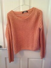 Pink Miss Selfridge Jumper, Size 8
