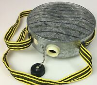 Vintage Canteen Oasis 4 Quart Military Camping Outdoor Galvanized Steel,