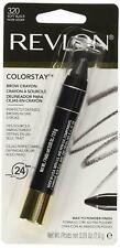 Revlon Colorstay Brow Crayon #320 Soft Black 0.09 Oz