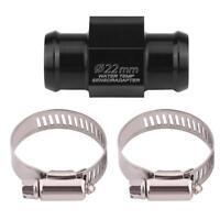 22mm Moto Temperatura Acqua Tubo Comune Gauge Sensore Radiatore Tubo Adattatore