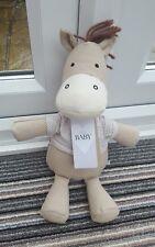 Marks and Spencer M & S Horse Pony Baby Donkey Soft Toy Beanie Plush 20470395