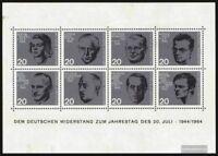 BRD (BR.Deutschland) Block3 (kompl.Ausgabe) Ersttagssonderstempel gestempelt 196