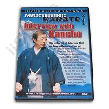 Mastering Karate Interview Master Hirokazu Kanazawa Dvd Rs 170 jka budo Rare!