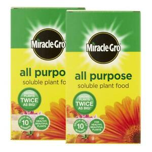 2 x Miracle-Gro Plant Food Fertiliser, 1kg 2 pack  ALL PURPOSE  FAST SHIPPING