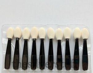 Make Up Eyeshadow Eye Shadow Cosmetic Applicators x10